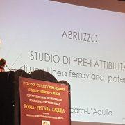 PROTOCOLLO DI INTESA FRA REGIONE LAZIO, REGIONE ABRUZZO, E FERROVIE DELLO STATO: primo passo verso la linea ferroviaria veloce Roma-Pescara-L'Aquila