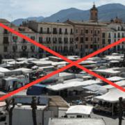 Sulmona, Stop al mercato settimanale di Piazza Garibaldi
