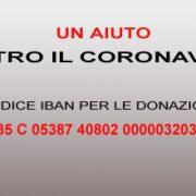 Sulmona. Ecco il Conto Corrente del Comune per le donazioni relative all'emergenza Sanitaria