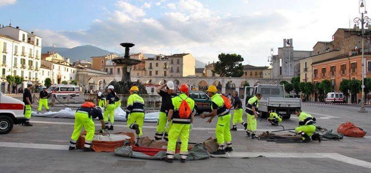 Sulmona: il sindaco elogia la protezione Civile