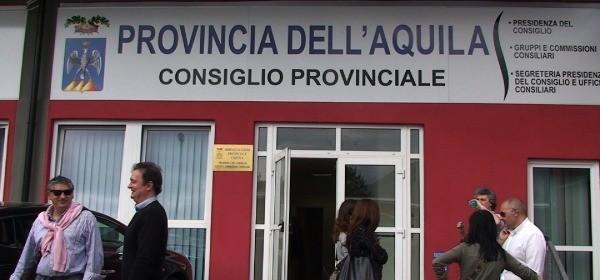 Consiglio Provincia dell'Aquila: approvato il DUP e il bilancio  2020-2022