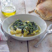 In cucina con Ovidio. Ventisettesima ricetta: zuppa di cicoria selvatica e patate