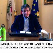 FANO INFORMA WEB TV: intervista allo studente sottoposto a TSO per rifiuto della mascherina